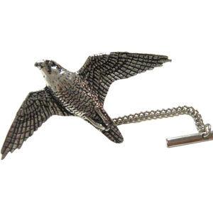 Peregrine Falcon Bird Tie Tack